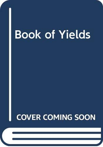 9780470241585: Book of Yields