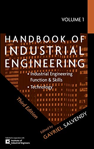 9780470241820: Handbook of Industrial Engineering, Third Edition (3 Volume Set)