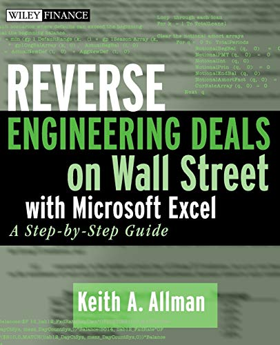 9780470242056: Reverse Engineering Deals On Wall Street With Microsoft Excel: A Step-by-step Guide