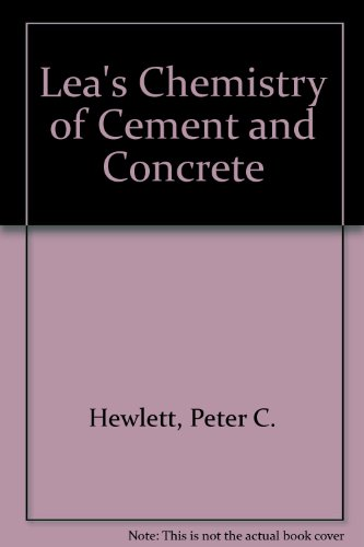 9780470244166: Lea's Chemistry of Cement and Concrete