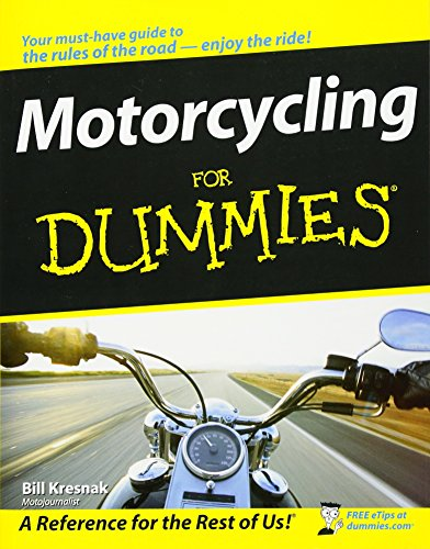 9780470245873: Motorcycling for Dummies