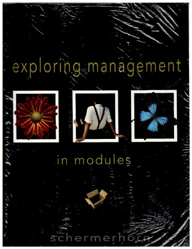 9780470246528: Exploring Management in Modules with Clicker and WileyPLUS Set (Wiley Plus Products)