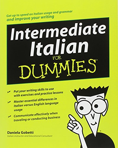 9780470247945: Intermediate Italian for Dummies