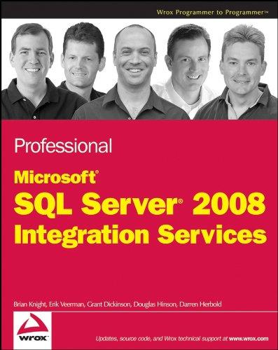 9780470247952: Professional SQL Server 2008 Integration Services