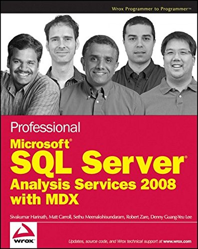 9780470247983: Professional Microsoft SQL Server Analysis Services 2008 with MDX (Wrox Programmer to Programmer)