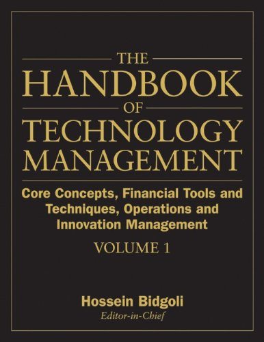 9780470249475: The Handbook of Technology Management: Core Concepts, Financial Tools and Techniques, Operations and Innovation Management (Volume 1)