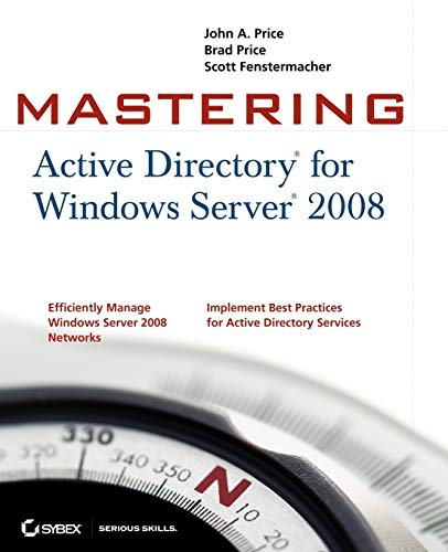 9780470249833: Mastering Active Directory for Windows Server 2008