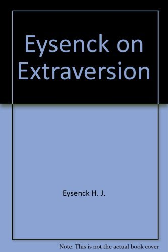 9780470249956: Eysenck on extraversion
