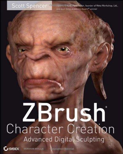 9780470249963: ZBrush Character Creation: Advanced Digital Sculpting