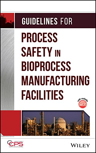 Guidelines for Process Safety in Bioprocess Manufacturing Facilities (Hardback): Center for ...