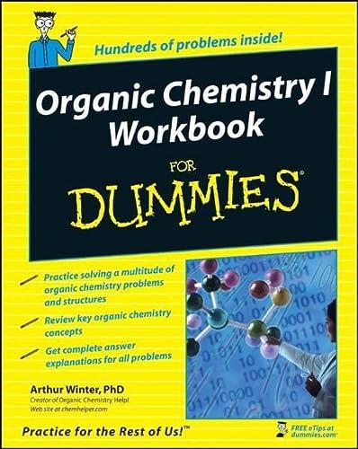 9780470251515: Organic Chemistry I Workbook For Dummies