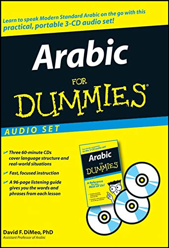9780470251546: Arabic for Dummies Audio Set [With 96-Page Listening Guide]