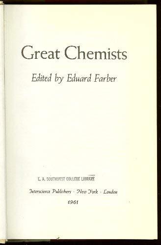9780470254769: Great Chemists