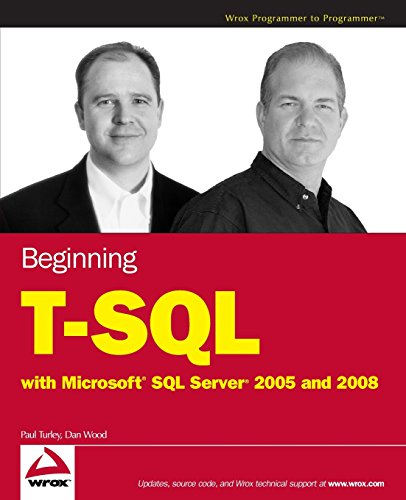 9780470257036: Beginning T-SQL with Microsoft SQL Server 2005 and 2008