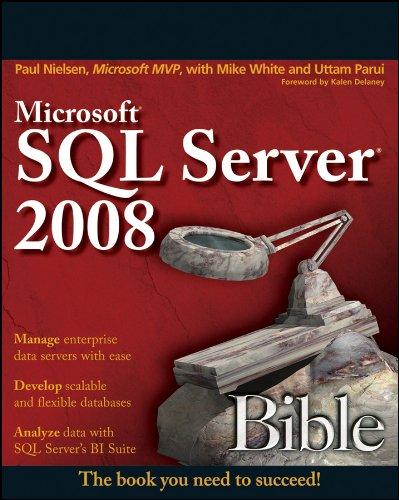 9780470257043: Microsoft SQL Server 2008 Bible