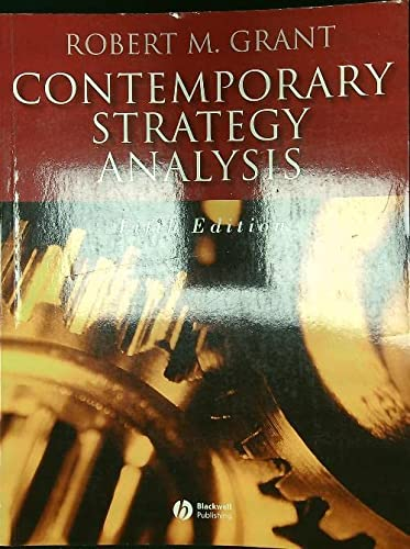9780470257661: Contemporary Strategy Analysis: Concepts, Techniques, Applications with Cases Set