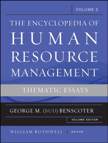 9780470257715: The Encyclopedia of Human Resource Management, Volume 3: Thematic Essays