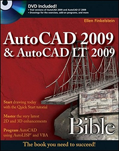 9780470260173: AutoCAD 2009 and AutoCAD LT 2009 Bible (Bible (Wiley))