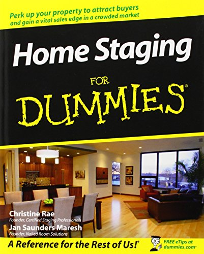 9780470260289: Home Staging For Dummies