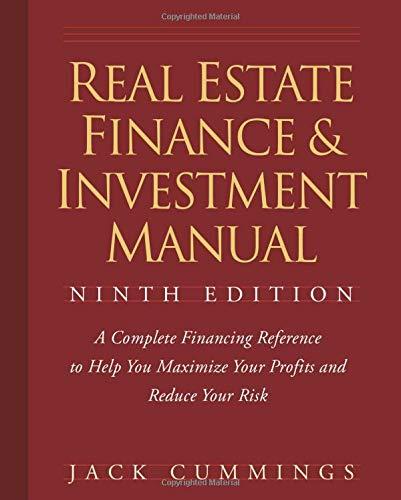9780470260401: Real Estate Finance 9e