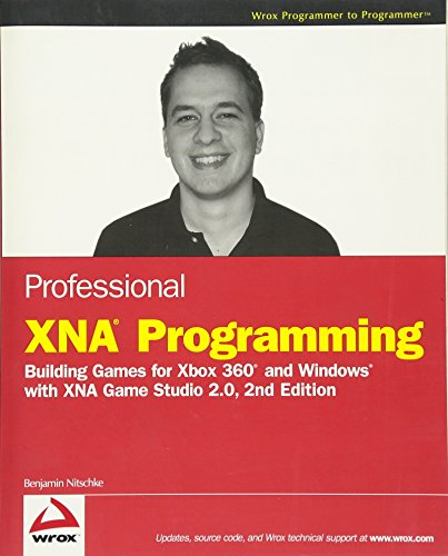 9780470261286: Professional XNA Programming: Building Games for Xbox 360 and Windows with XNA Game Studio 2.0