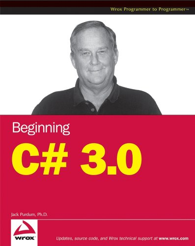 9780470261293: Beginning C# 3.0: An Introduction to Object Oriented Programming (Wrox Beginning Guides)