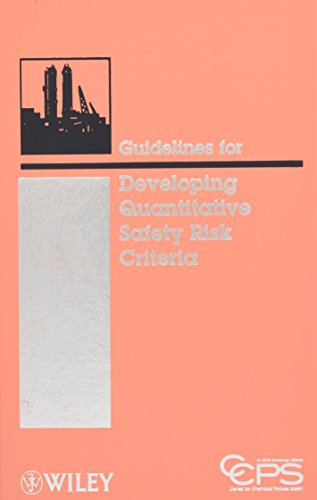 9780470261408: Guidelines for Developing Quantitative Safety Risk Criteria