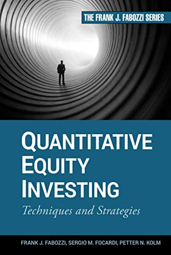 9780470262474: Quantitative Equity Investing: Techniques and Strategies