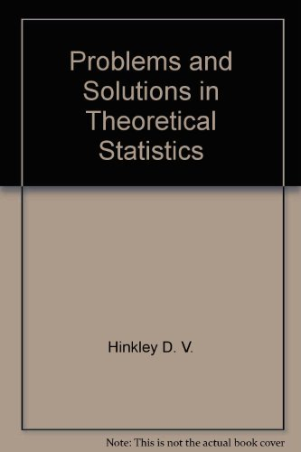 9780470262993: Problems and solutions in theoretical statistics