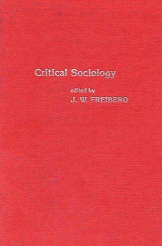 9780470264256: Critical Sociology: European Perspective (Irvington critical sociology series)