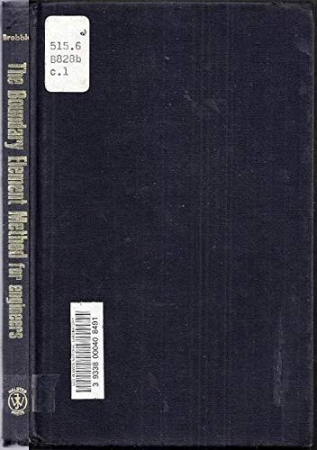 9780470264386: The boundary element method for engineers