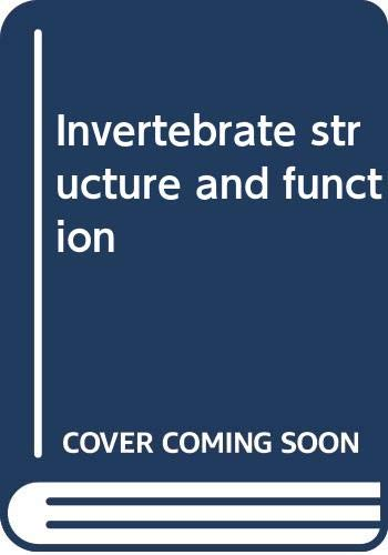 9780470265024: Invertebrate structure and function