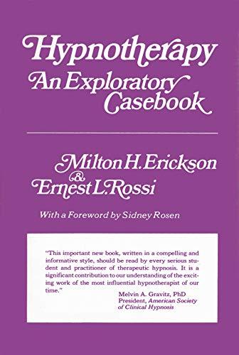 9780470265956: Hypnotherapy: An Exploratory Casebook