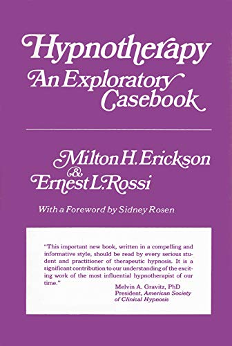 9780470265956: Hypnotherapy: An Exploratory Casebook