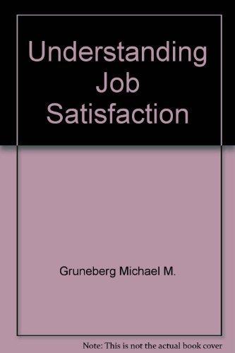 9780470266106: Understanding job satisfaction