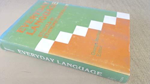 9780470266700: Everyday Language: Studies in Ethnomethodology