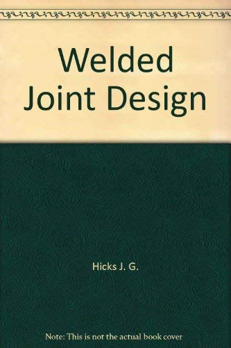 9780470266861: Welded joint design
