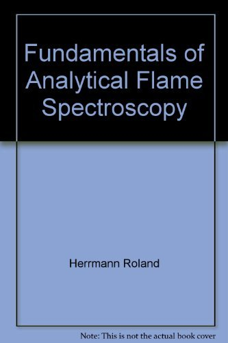 9780470267103: Fundamentals of analytical flame spectroscopy