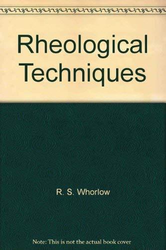 9780470267363: Whorlow Rheological