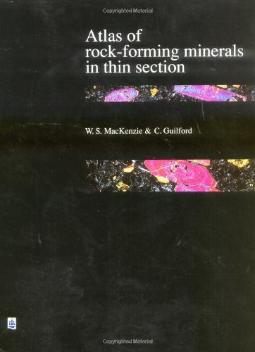 9780470269213: Atlas of Rock-Forming Minerals in Thin Section