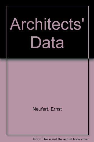 9780470269473: Architects' Data
