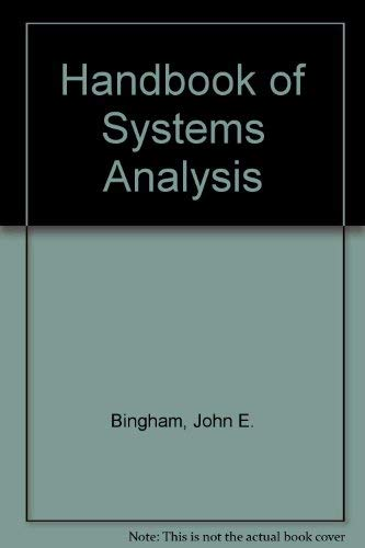 9780470269978: Handbook of Systems Analysis
