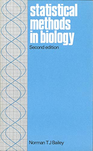 9780470270066: Statistical Method in Biology (Biological Science Texts)