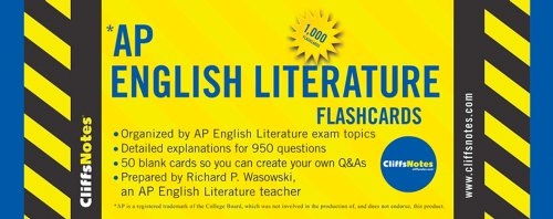 9780470270103: CliffsNotes AP English Literature Flashcards