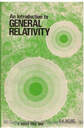 9780470270547: An introduction to general relativity