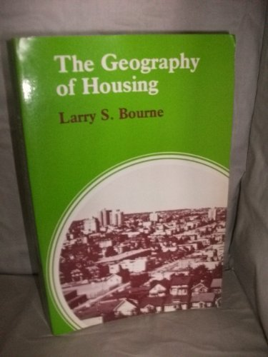 9780470270592: Geography of Housing (Scripta Series in Geography)