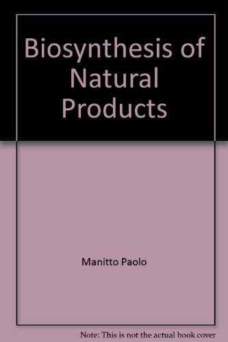 9780470271001: Biosynthesis of natural products