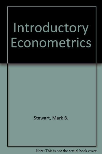9780470271322: Introductory Econometrics