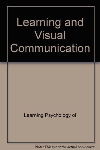 9780470272312: Learning and visual communication (New patterns of learning)