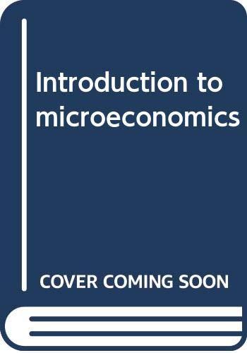 9780470272435: Introduction to microeconomics